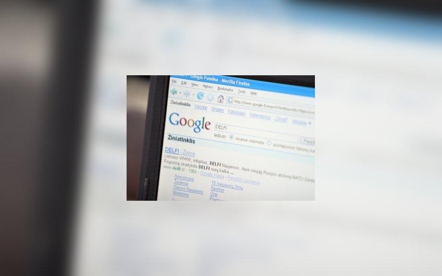 """""""Google"""" paieškos sistema"""