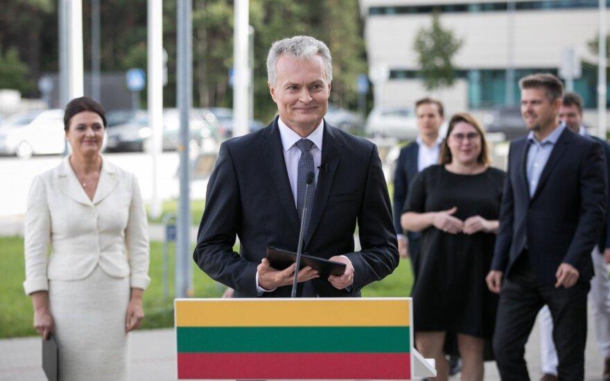 Науседа принял решение: станет кандидатом в президенты Литвы