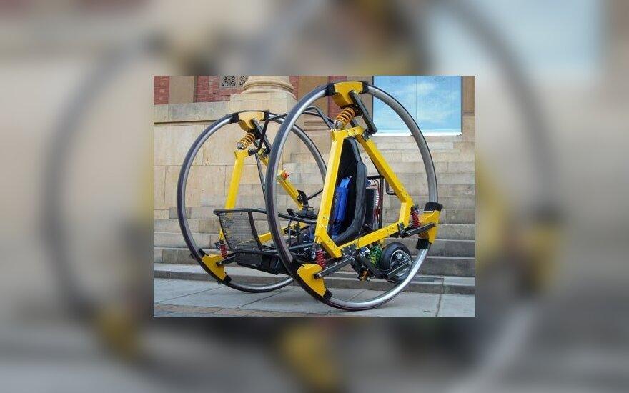 В Австралии студенты создали футуристичный электродицикл