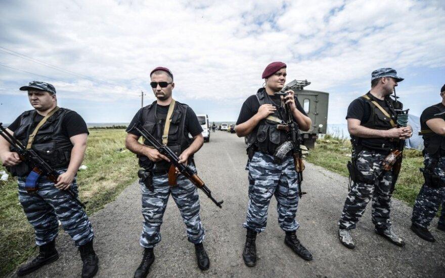 Dowódca separatystów zakazał przeklinania