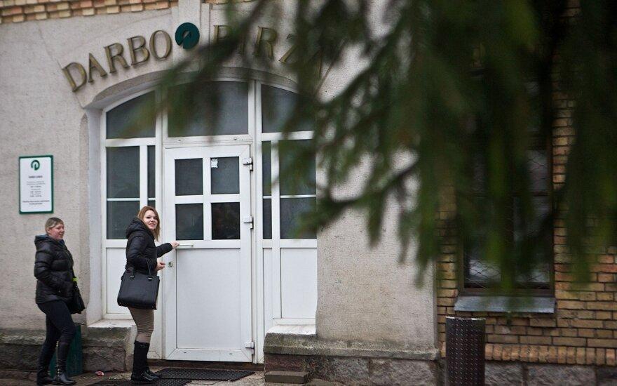 В сентябре из всех стран ЕС уровень безработицы увеличился только в Литве