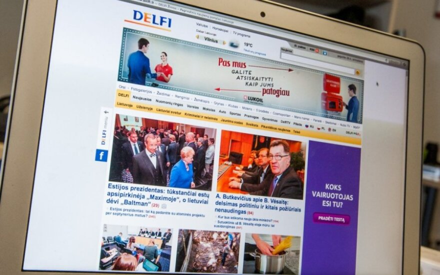 На кибератаку против DELFI обратили внимание и зарубежные СМИ