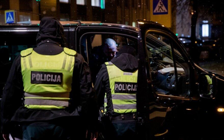 В Вильнюсе столкнулись 4 автомобиля, пострадали два человека