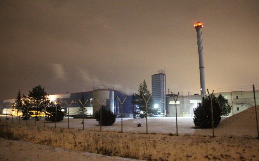 В Клайпеде произошел пожар на фабрике Philip Morris Lietuva