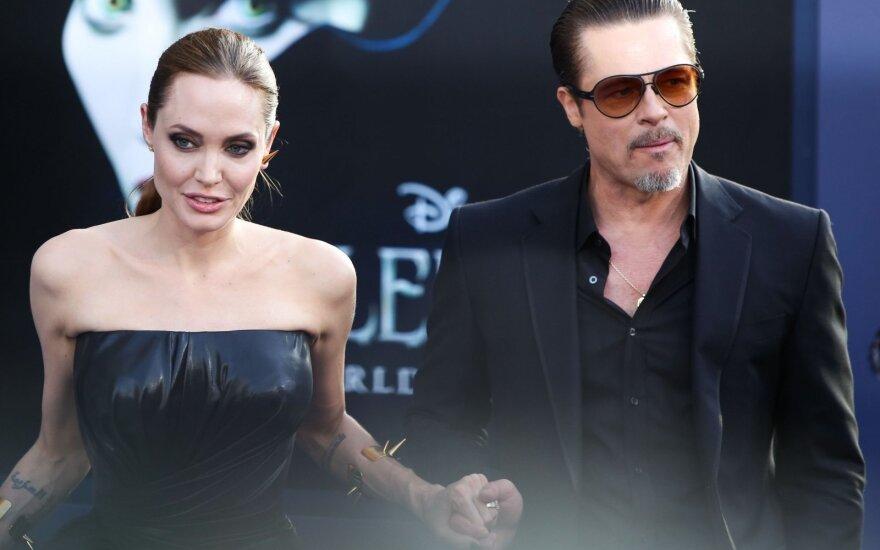 Angelina Jolie, Bradas Pittas