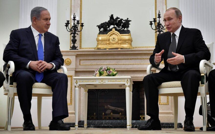 """Нетаньяху встретился в Париже с Путиным: """"Беседа была позитивной"""""""
