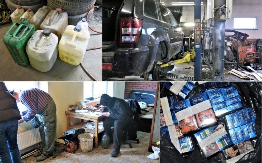 Полиция проверяла автосервисы: начато 5 расследований