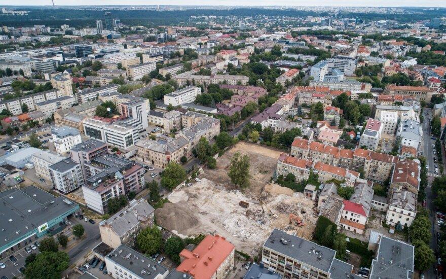 Жилые дома в Вильнюсе планируют строить на сильно загрязненной территории