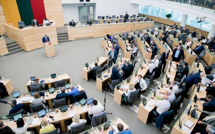 Опрос: жители Литвы недовольны первым годом работы Сейма