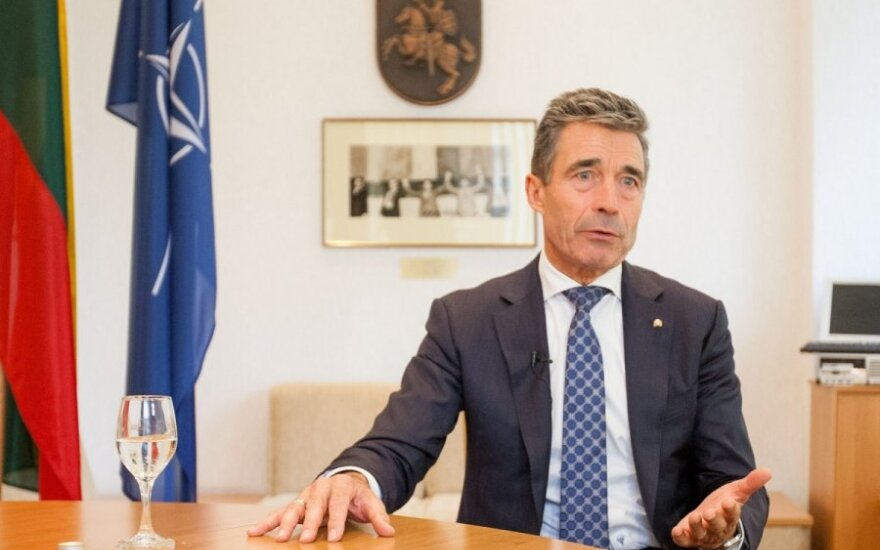 Rasmussen czeka na decyzje o wzmocnieniu obecności NATO w państwach bałtyckich