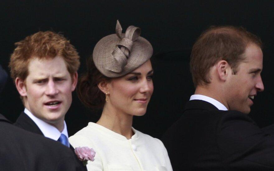 Принц Гарри готовит Кейт Миддлтон к родам