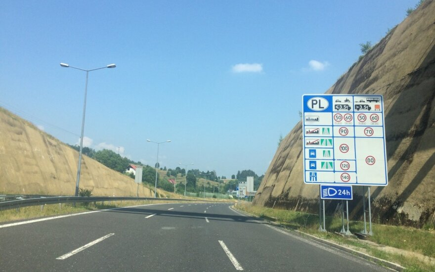 На дорогах Польши появились новые знаки. За несоблюдение требований – штраф в 500 злотых (113 евро)