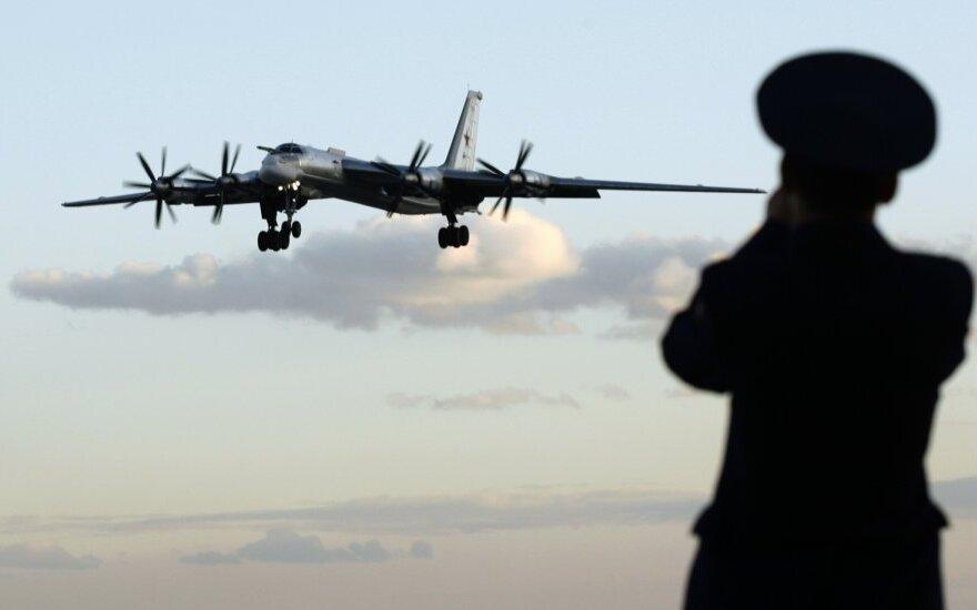 """Rusijos bombonešis """"Tu-95"""""""