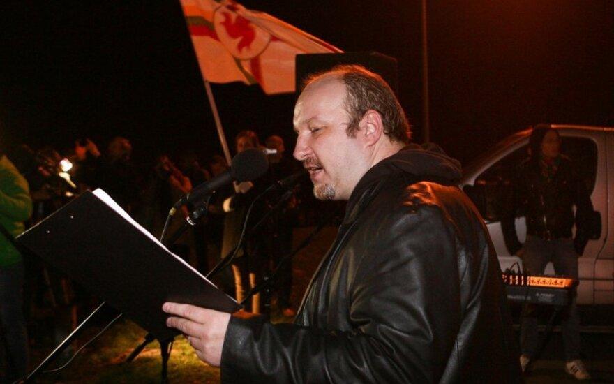 В день возвращения Вильнюса националисты оскорбляли главу МИДа Литвы