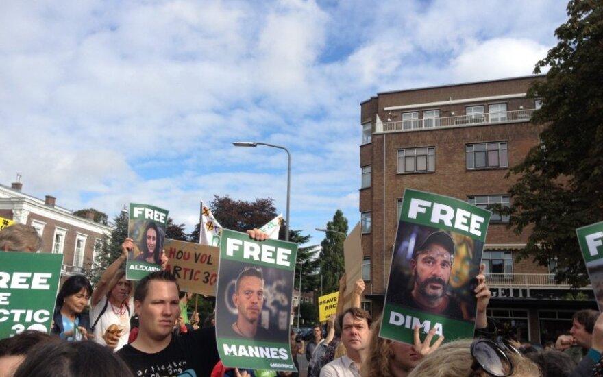 """""""Greenpeace"""" demonstracija Hagoje"""