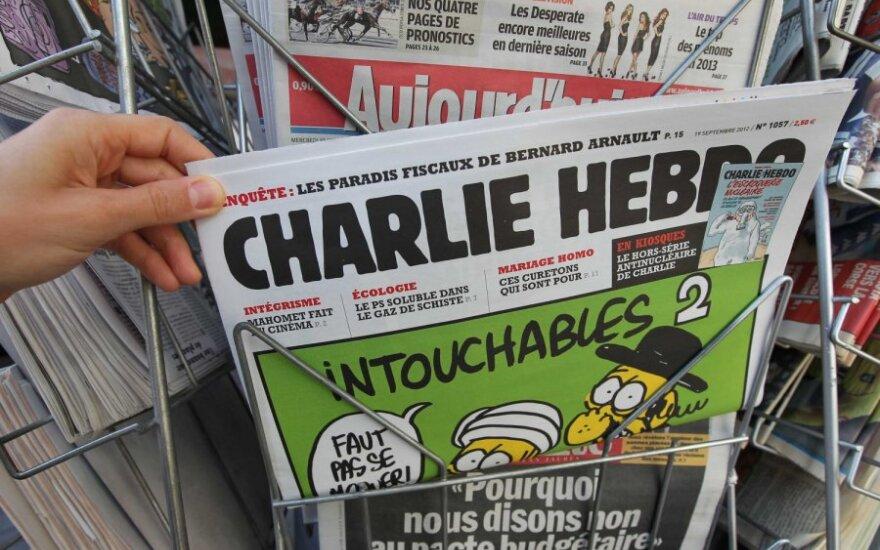 Charlie Hebdo опубликовал новую карикатуру на тему терактов в Париже
