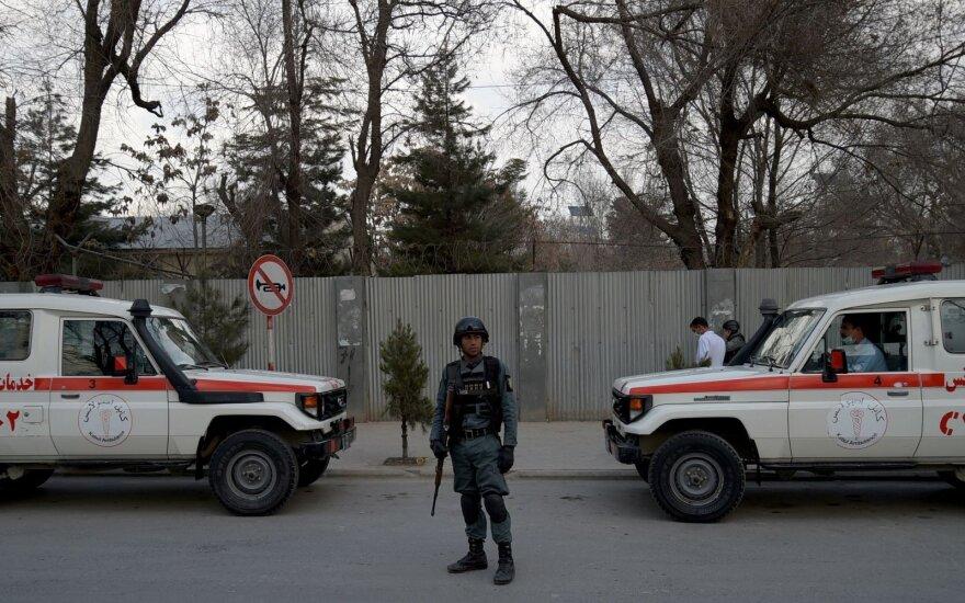 Неизвестные атаковали госпиталь в центре Кабула