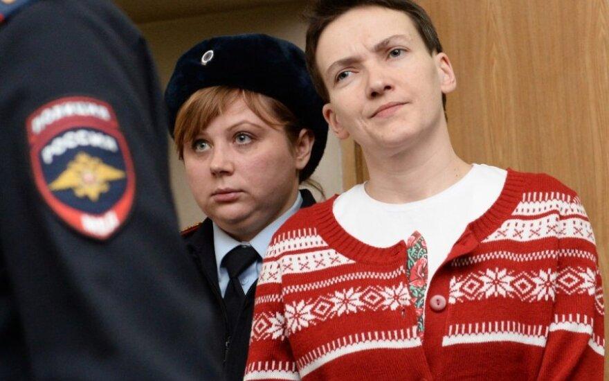 Правозащитники требуют сообщить о местонахождении Надежды Савченко