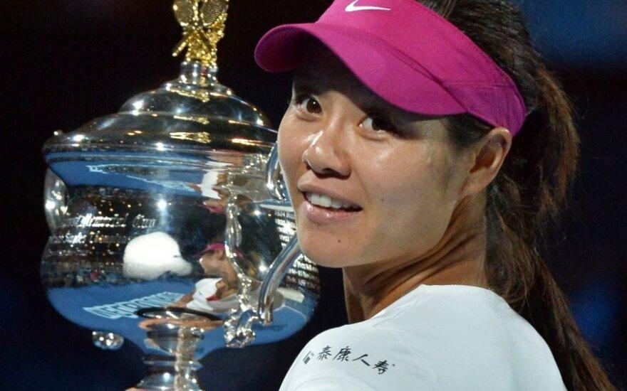 Li Na pirmą kartą triumfavo Australijos teniso čempionate
