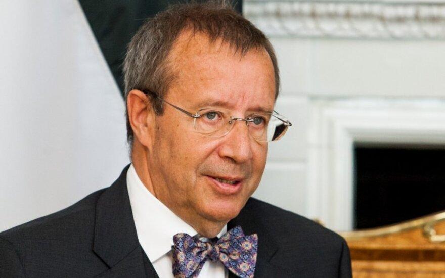 Президент Эстонии поздравил Литву с Днем восстановления государства