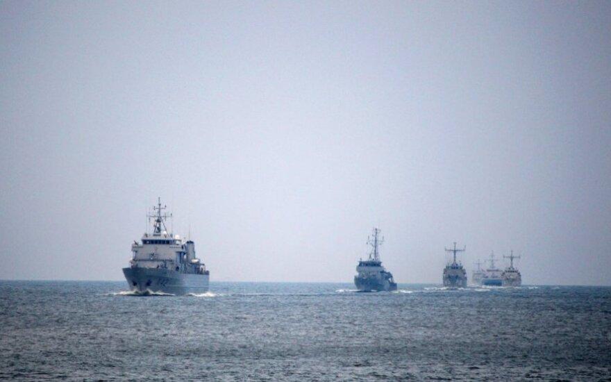 В Клайпеду прибудут восемь судов НАТО