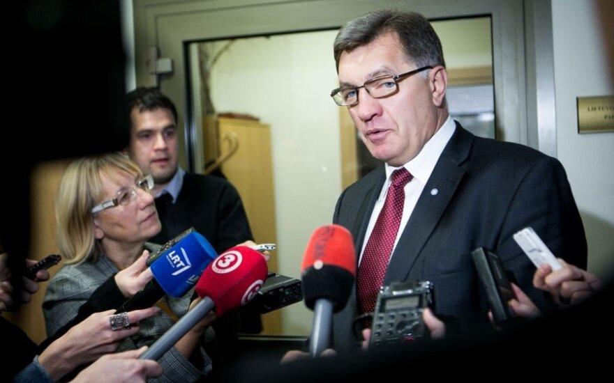 Премьер Литвы не преувеличивает значение заявлений о возможных ограничениях экспорта в РФ