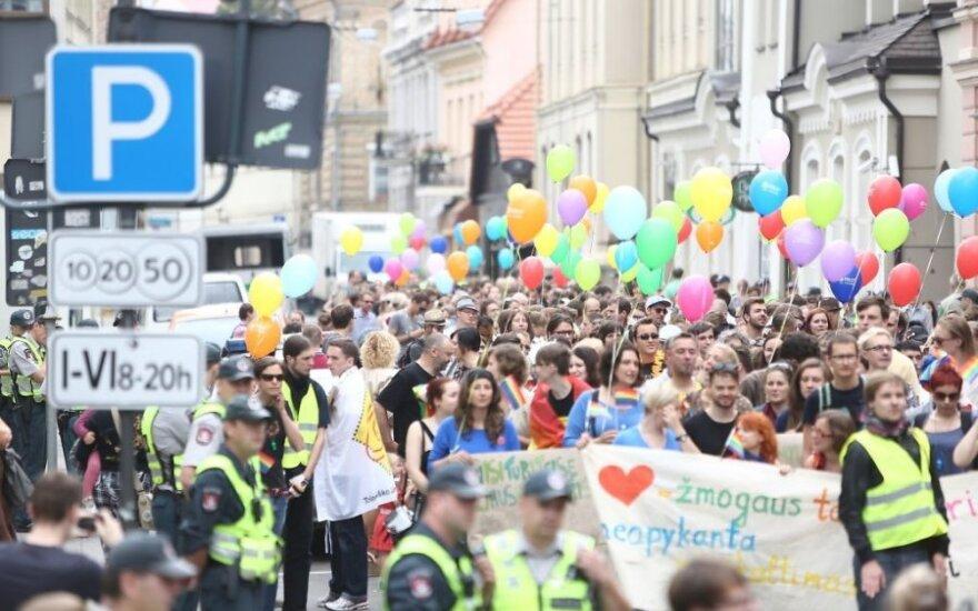 """Шимашюс не видит """"никаких проблем"""" с проведением гей-парада в центре Вильнюса"""