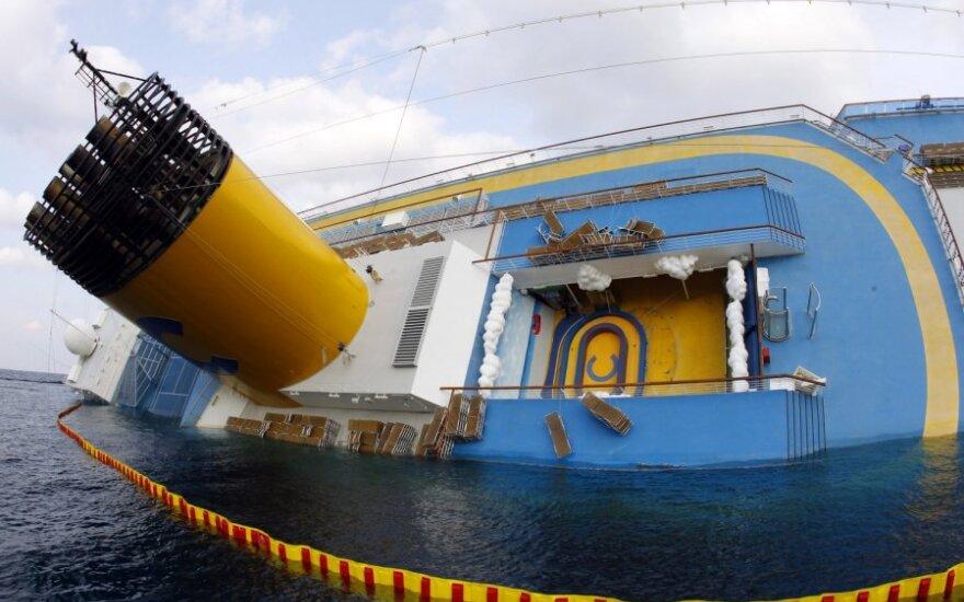 """Laivas """"Costa Concordia"""""""