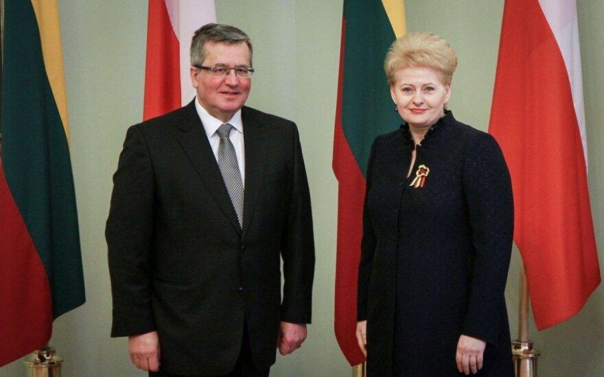 Grybauskaitė w Polsce, Komorowski na Wołyniu