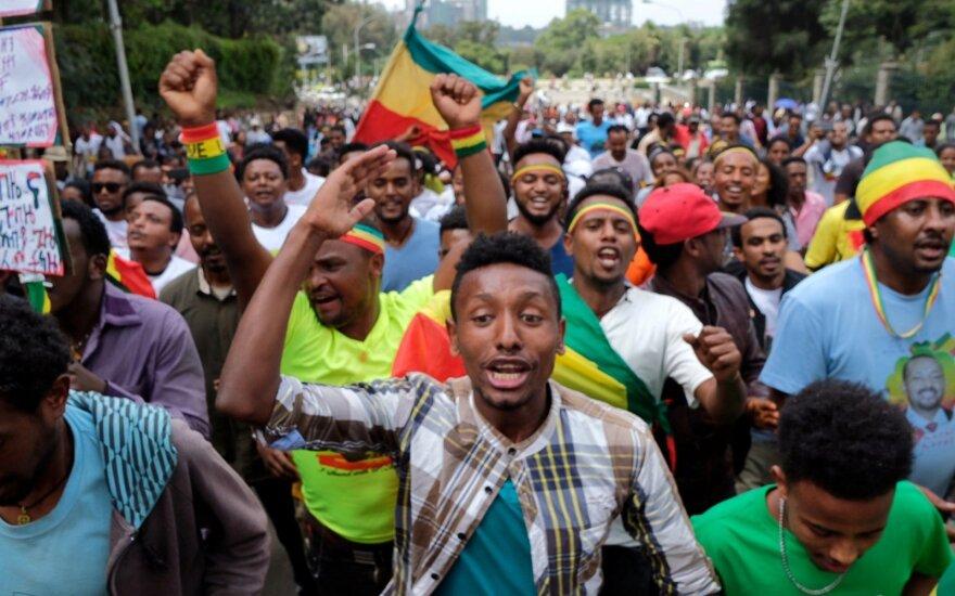 Более 80 человек пострадали при взрыве на митинге в столице Эфиопии