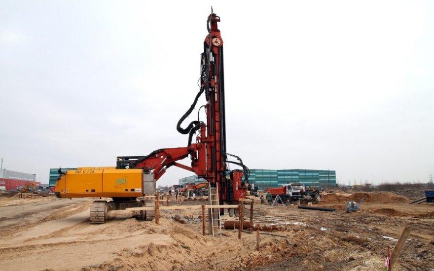 Под Каунасом начато строительство объекта стоимостью 24 млн. литов