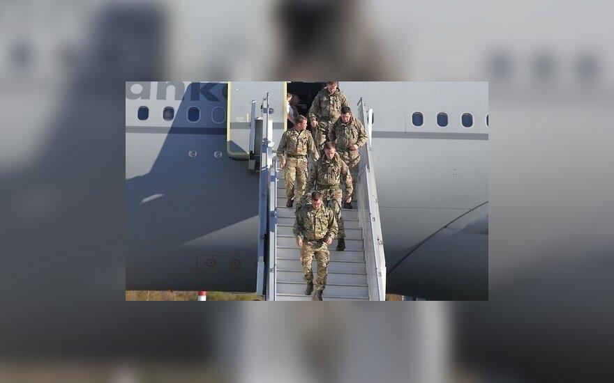 В Латвию на масштабные учения прибыли 500 британских военных