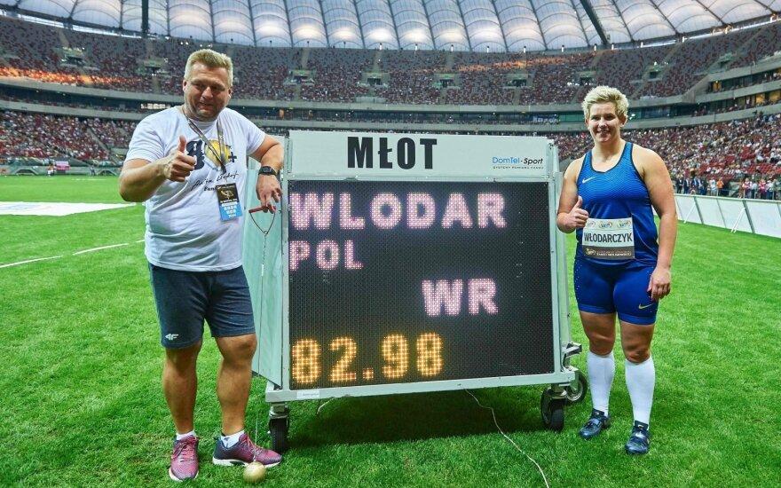 Польская легкоатлетка побила два рекорда мира за две недели