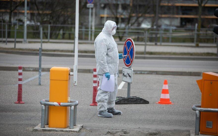 В Литве за ночь количество заболевших увеличилось до 581
