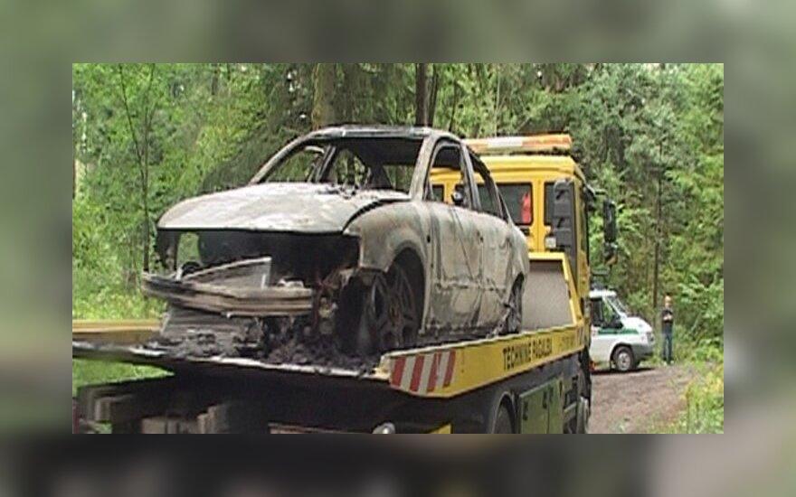 Эксперты подтвердили личность сожженной в Паневежском районе девушки