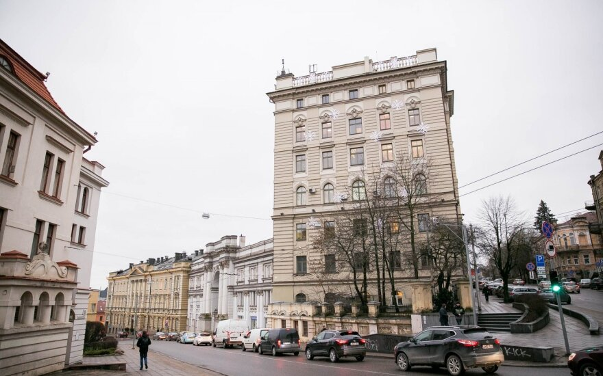 """В компании """"Литовские железные дороги"""" проводят обыски"""