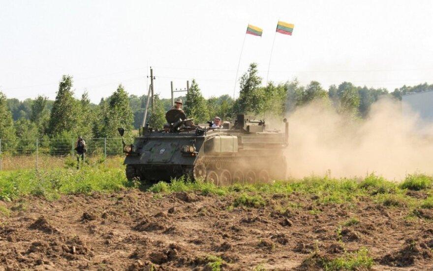 Tankodromas prie Vilniaus