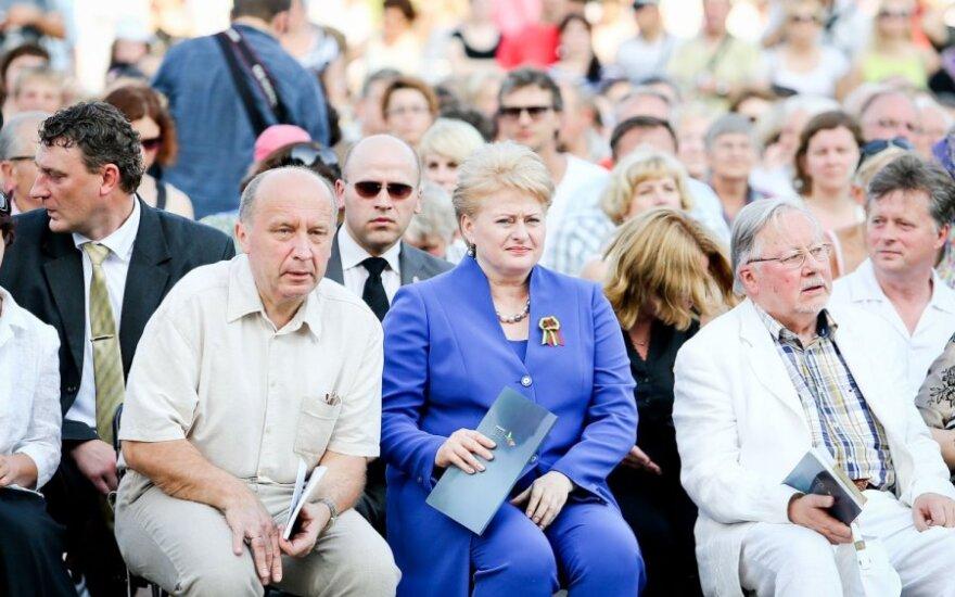 Andrius Kubilius, Dalia Grybauskaitė ir Vytautas Landsbergis