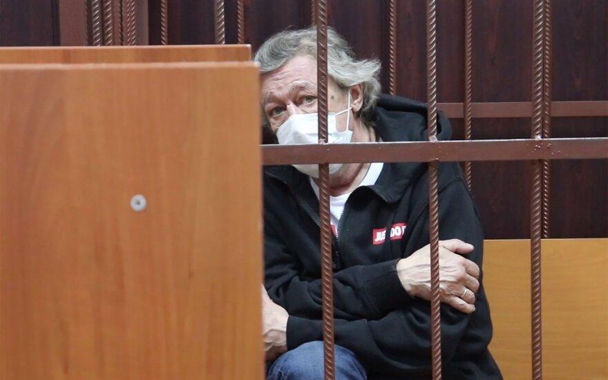 Ефремов впервые обратился к семье погибшего в ДТП Захарова