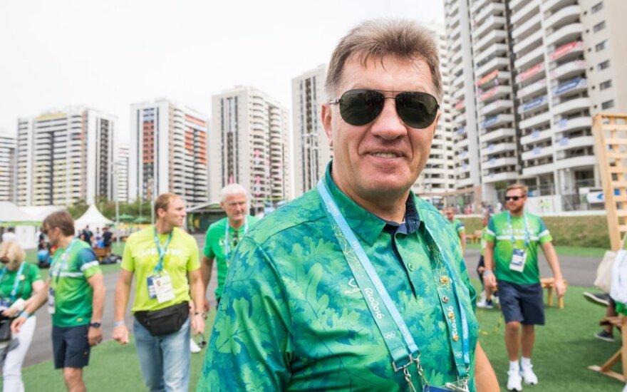 Буткявичюс посетил олимпийскую деревню