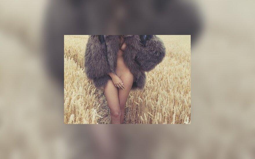 Дарья Вербова пробежалась голая по полю