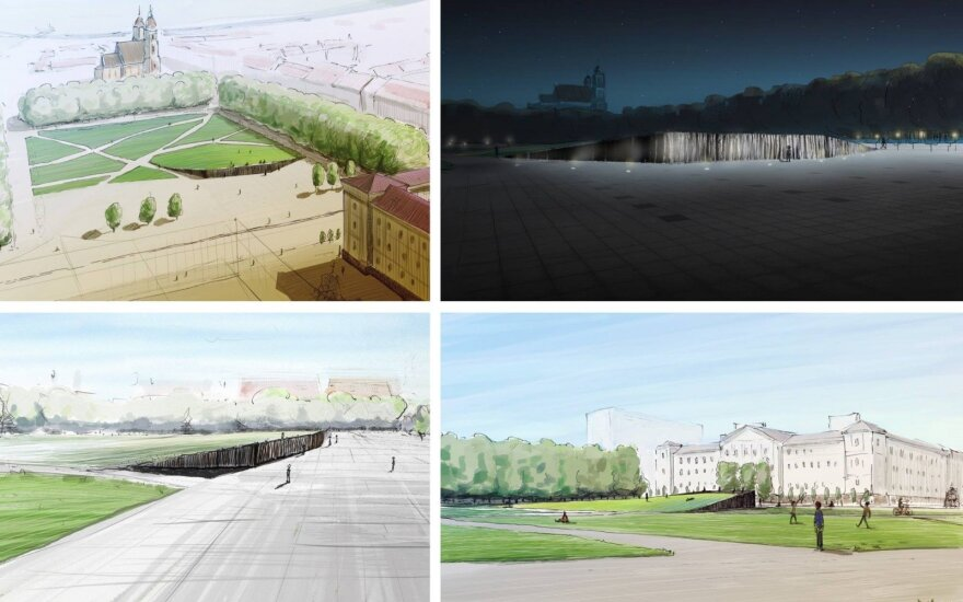 Проект мемориала Лукишкской площади предлагают править с учетом требований закона