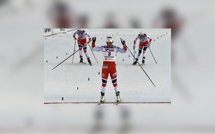 Норвежские лыжницы не дали выиграть соперницам ни одной медали