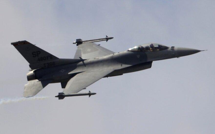 """F-16 Fighting Falcon"" naikintuvas"