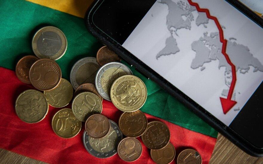 ЕК: спад литовской экономики в этом году составит 7,1%, рост в следующем году - 6,7%