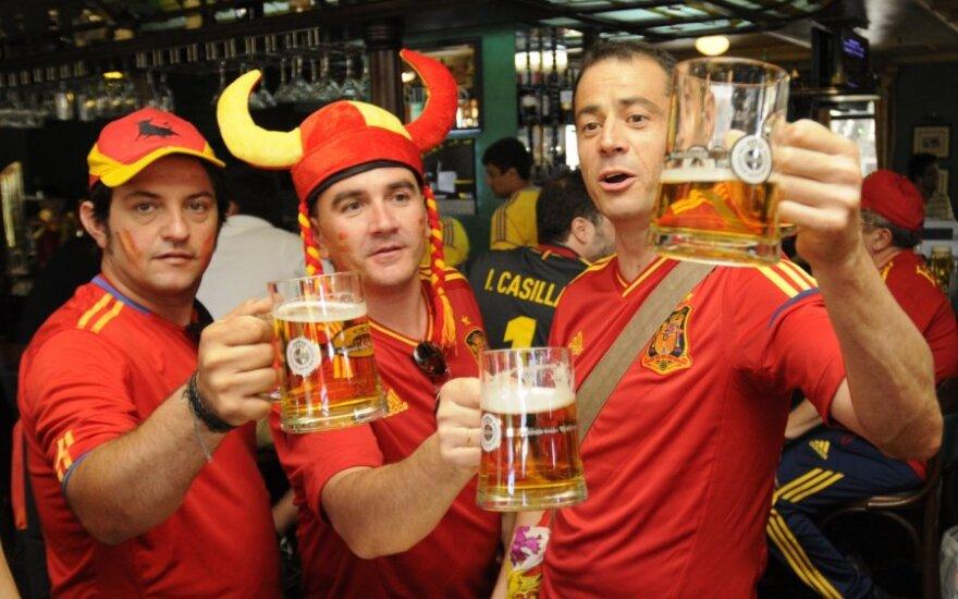 Ispanijos futbolo rinktinės aistruoliai