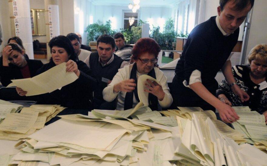 Украина: оппозиция отвергает результаты выборов в Раду
