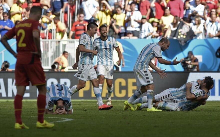 Argentinos futbolininkų triumfas