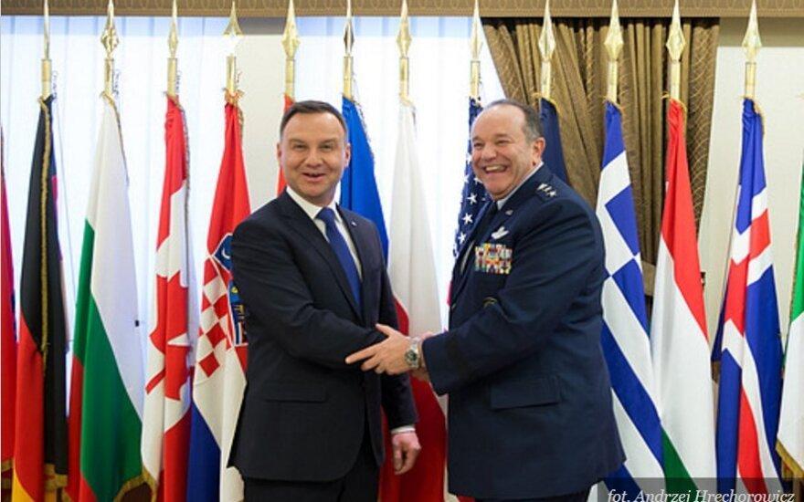 Spotkanie Prezydenta RP i Naczelnego Dowódcy Połączonych Sił Zbrojnych NATO w Europie (SACEUR) gen. Philipa Breedlove'a