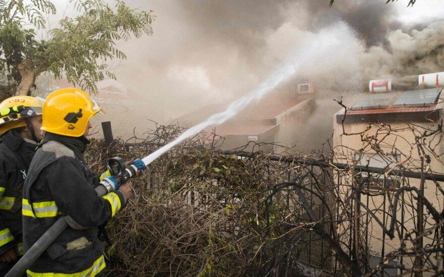 На помощь Израилю направлена пожарная авиация из разных стран
